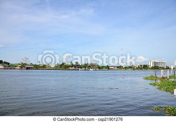 Río Chao phraya - csp21901276
