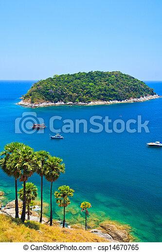phuket, méridional, thaïlande, île - csp14670765