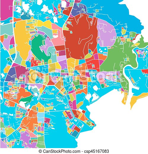 photograph relating to Printable Map of Thailand known as Phuket, Thailand, Colourful Vector Map