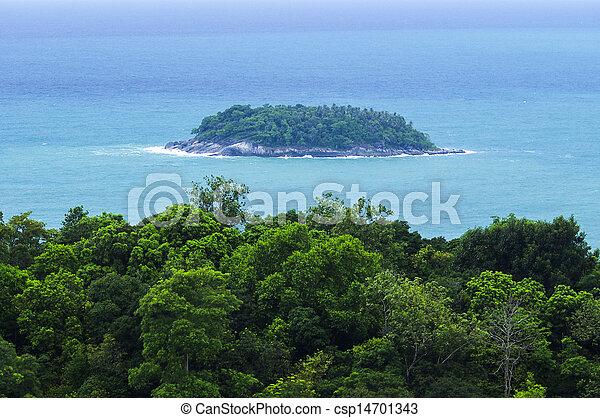 phuket, vista, ponto - csp14701343