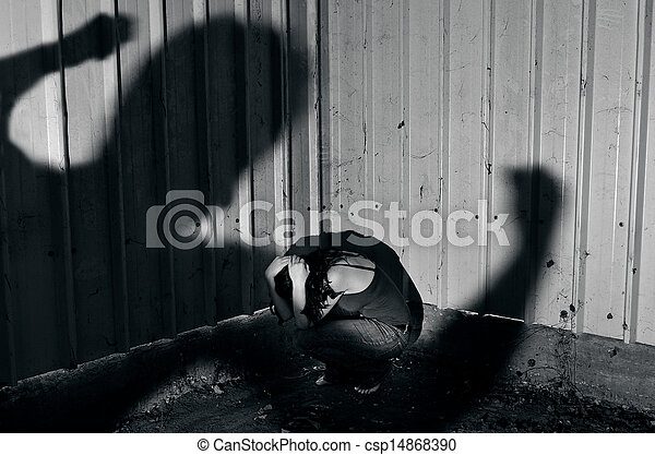 Physical abuse - csp14868390