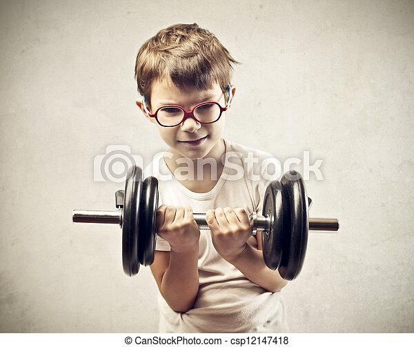 physical strength - csp12147418