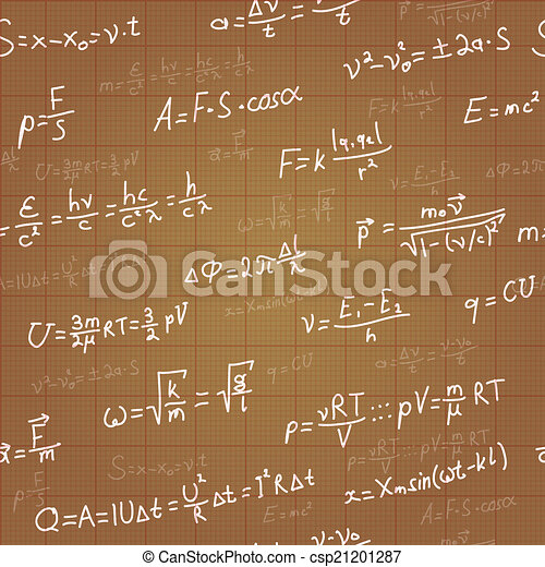Physics formulas vector seamless pattern on brown blueprint vector physics formulas vector seamless pattern on brown blueprint vector malvernweather Image collections