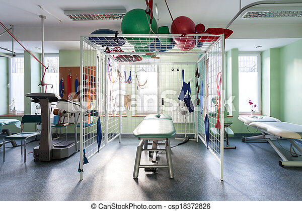 Physiotherapy center - csp18372826