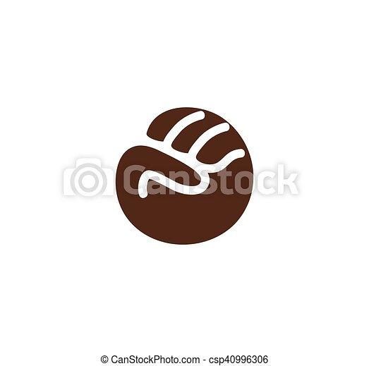 okrągła brązowa orgia