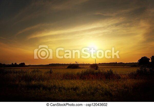 piękny, krajobraz - csp12043602