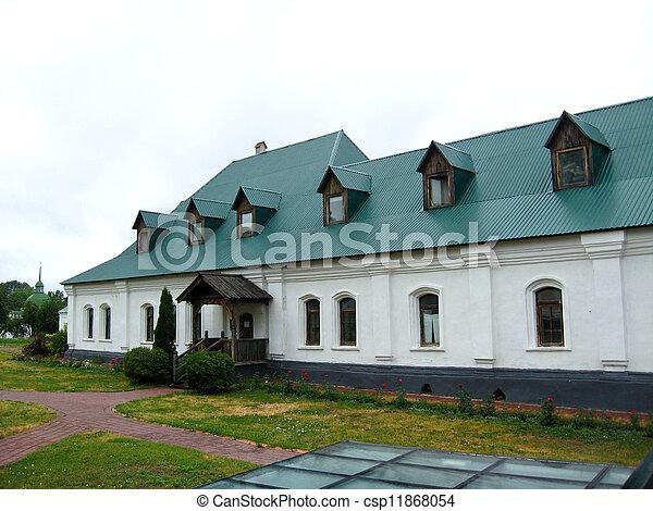 piękny, mieszkanie, mnisi - csp11868054