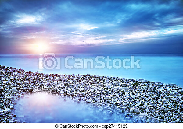 piękny, motyw morski - csp27415123