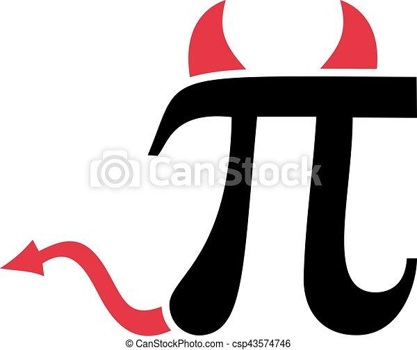 Pi Sign With Devil Horns