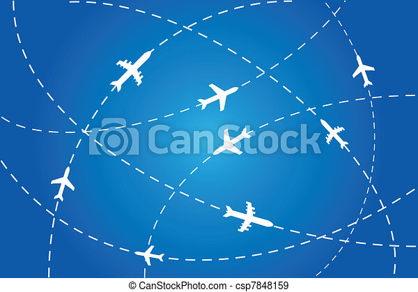 piani, navigare, aria - csp7848159