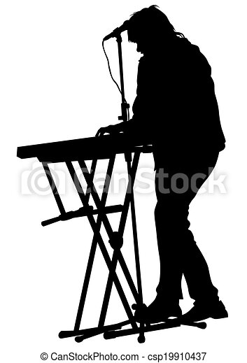 Image Result For Keyboardist Clipart