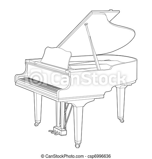 Piano - csp6996636