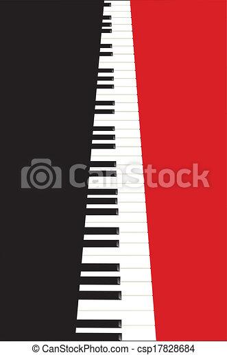 Piano Concert Poster Eps Vector Csp17828684