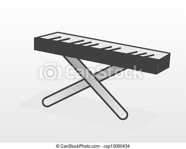 Piano Keyboard  - csp13060434