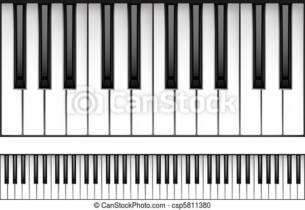 Piano Keyboard - csp5811380