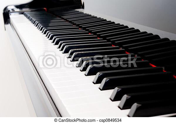 Piano Keys - csp0849534