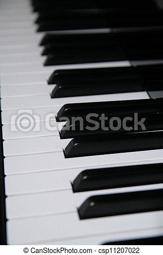 piano keys - csp11207022