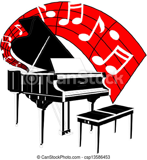 piano vector clipart vector search illustration drawings and eps rh canstockphoto com piano clip art free printable piano clipart images