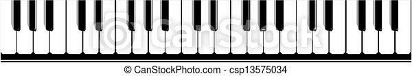 Piano vector - csp13575034