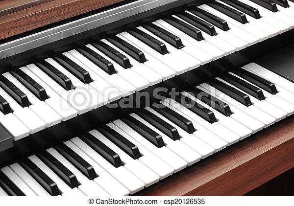 pianotoetsenbord - csp20126535