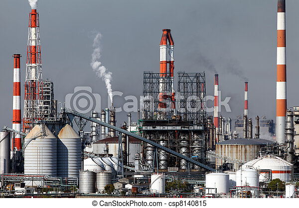 pianta, industriale - csp8140815