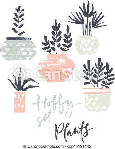 piante, hobby, set., otri - csp44191142