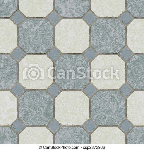 piastrella, ceramica, seamless, cucina, pavimento - csp2372986