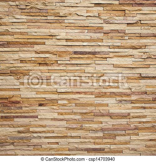 piastrella, parete, pietra, mattone, struttura - csp14703940