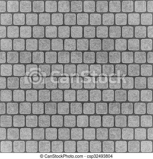piastrella, struttura, seamless, fondo - csp32493804