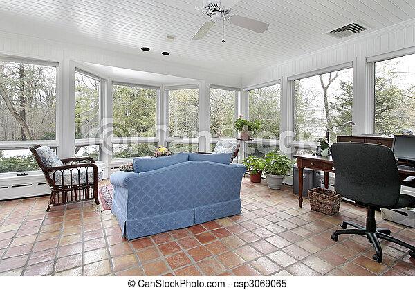 Piastrella veranda spagnolo. piastrella casa suburbano spagnolo