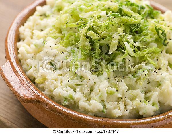 piatto, pietanza, colcannon - csp1707147