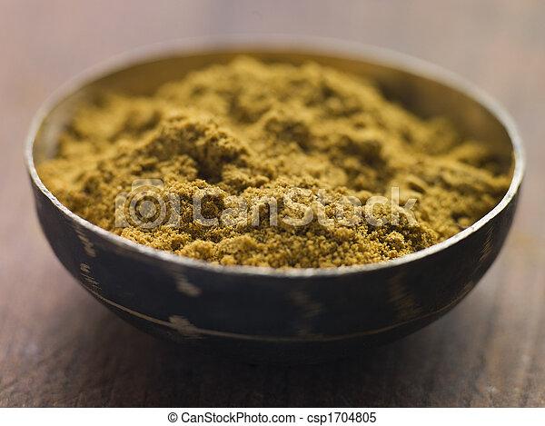 piatto, pietanza, cumino, suolo - csp1704805