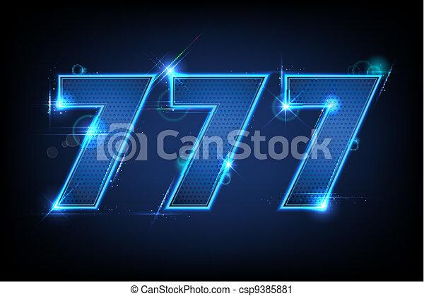 piatto, sette, triplo - csp9385881