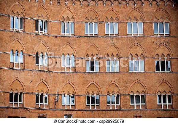Piazza del Campo in Siena - csp29925879