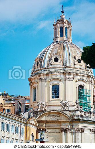 Piazza Venezia Rome - csp35949945