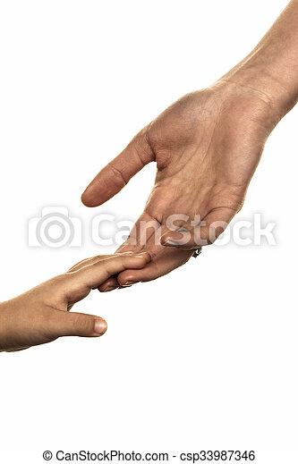piccolo, grande mano - csp33987346