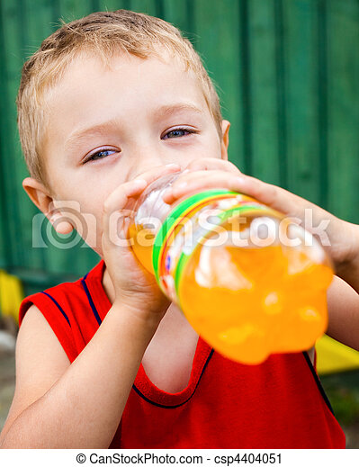 picie, butelkowy, dziecko, niezdrowy, soda - csp4404051