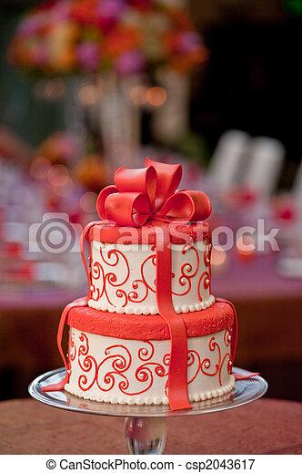 Pick wedding Cake - csp2043617
