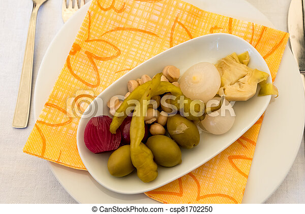 Pickled vegetables - csp81702250