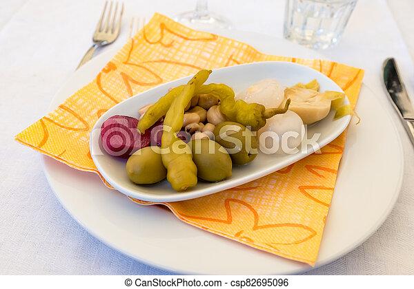 Pickled vegetables - csp82695096