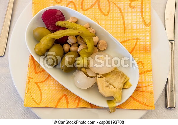 Pickled vegetables - csp80193708