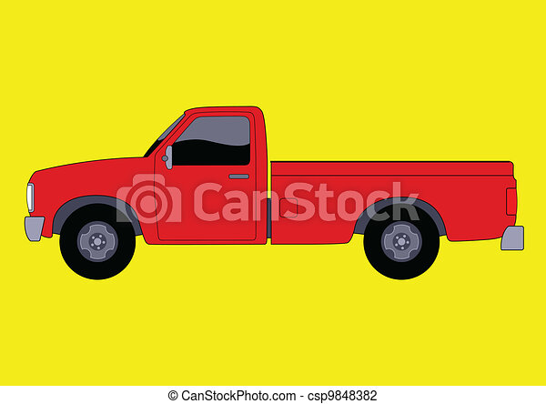 Pickup Truck - csp9848382