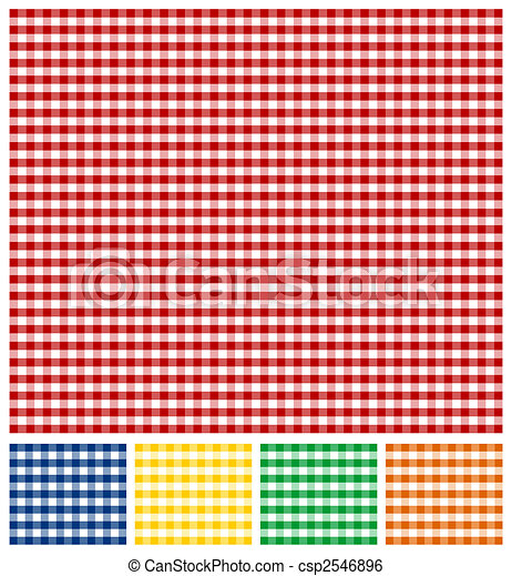 Picnic Tablecloth Texture