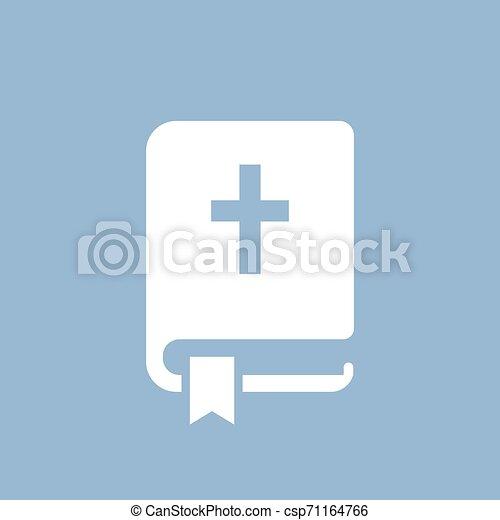 pictogram, ベクトル, 聖書 - csp71164766