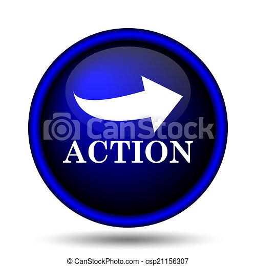 pictogram, actie - csp21156307