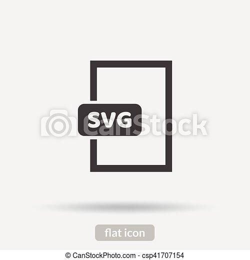 pictogram, svg, vector, eps10, type - csp41707154