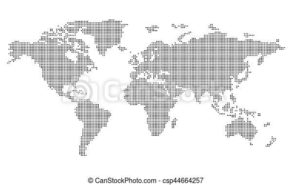 Pictogram world map dots circle medium object icon stock pictogram world map dots circle medium object icon symbol gumiabroncs Choice Image