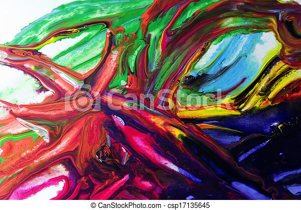 Picture color painting - csp17135645