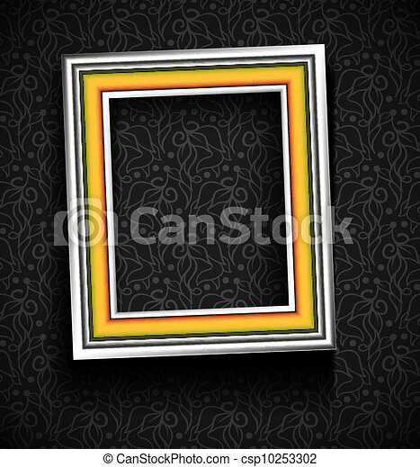 Picture Frame Wallpaper Background Photo Frame On Grunge Wall
