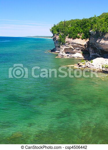 Pictured Rocks National Lakeshore - csp4506442